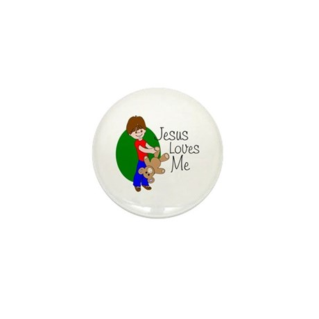 Jesus Loves Me Mini Button (100 pack)