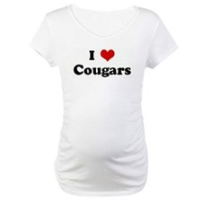 I Love Cougars Shirt