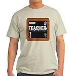 TEACHER BLACKBOARD Ash Grey T-Shirt