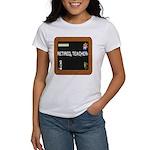 RETIRED TEACHER BLACKBOARD Women's T-Shirt