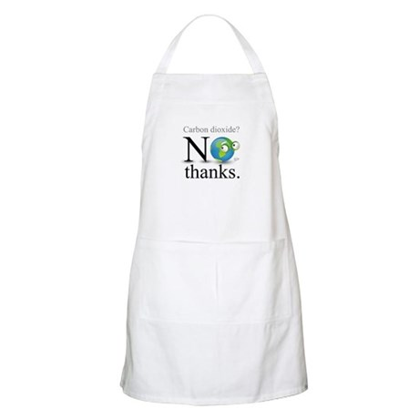 Carbon Dioxide? No Thanks. BBQ Apron