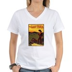 The Lost Trail Women's V-Neck T-Shirt