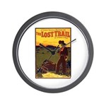The Lost Trail Wall Clock