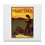 The Lost Trail Tile Coaster