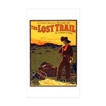 The Lost Trail Rectangle Sticker 10 pk)