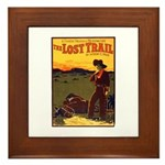 The Lost Trail Framed Tile