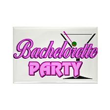 Martini: Bachelorette Party Rectangle Magnet (10 p