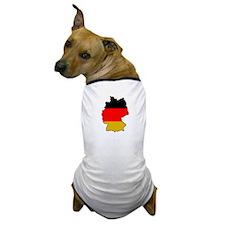 """Germany"" Dog T-Shirt"