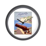 Discover Puerto Rico Wall Clock