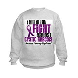 In The Fight Against CF 1 (Boyfriend) Sweatshirt
