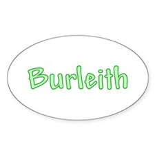 Burleith Oval Sticker (10 pk)