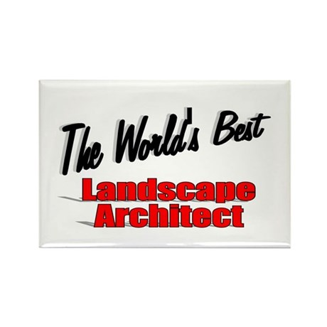 &quot;The World's Best Landscape Architect&quot; Rectangle M