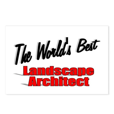 &quot;The World's Best Landscape Architect&quot; Postcards (