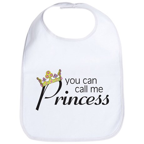 CALL ME PRINCESS Bib