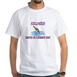 Killdeer Trapped In A Woman's Body Shirt