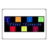 'tini town Banner