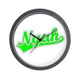 Retro Nyah (Green) Wall Clock