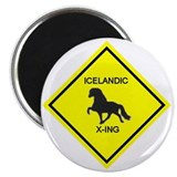 The Icelandic Horse Magnet
