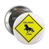 The Icelandic Horse Button