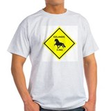 The Icelandic Horse Ash Grey T-Shirt