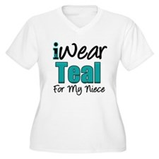 I Wear Teal Niece v1 T-Shirt