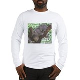 Sleeping Koala Long Sleeve T-Shirt