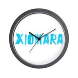 Xiomara Faded (Blue) Wall Clock
