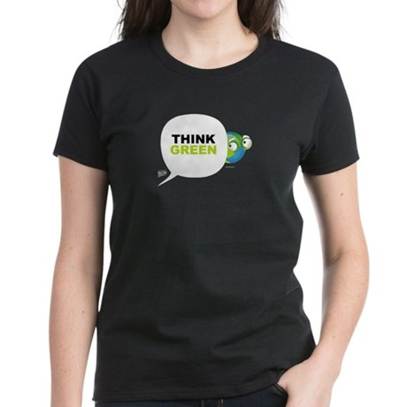 Think Green v3 Women's Dark T-Shirt