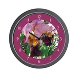 Dutch Iris Wall Clock
