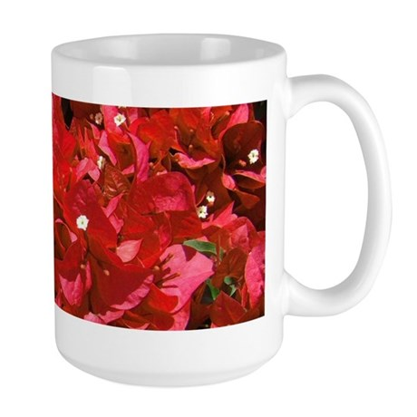 Red Bougainvillea Large Mug