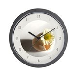 Hatching Daisy Wall Clock