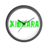 Xiomara Faded (Green) Wall Clock