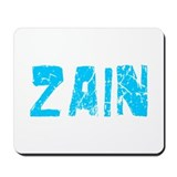 Zain Faded (Blue) Mousepad