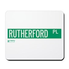 Rutherford Place in NY Mousepad