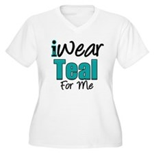 I Wear Teal For Me v1 T-Shirt