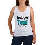 I Wear Teal For Me v1 Women's Tank Top