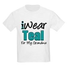 I Wear Teal Grandmother T-Shirt