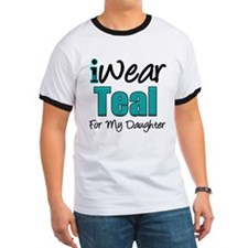 I Wear Teal Daughter T