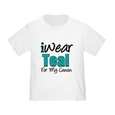 I Wear Teal Cousin v1 T