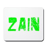 Zain Faded (Green) Mousepad