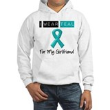 I Wear Teal Girlfriend v2 Hoodie