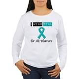 I Wear Teal Warriors v2 T-Shirt