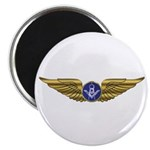 The Flying Masons Wings Magnet