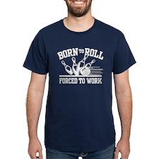 Born to Roll Bowling T-Shirt