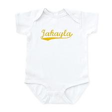 Vintage Jakayla (Orange) Infant Bodysuit