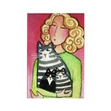 CAT MOM No.6...Magnet-no text (10 pack)