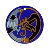 Celtic Bird & Cat Keepsake (Round)