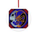 Celtic Bird & Cat Keepsake (Round)