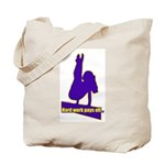 Gymnastics Tote Bag - Work