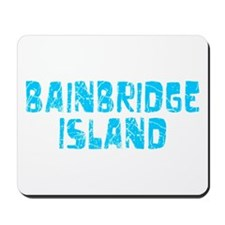 Bainbridge I.. Faded (Blue) Mousepad